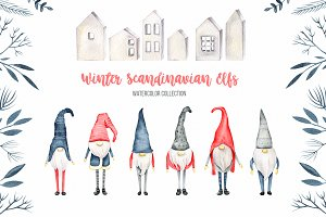 Winter Scandinavian Elfs