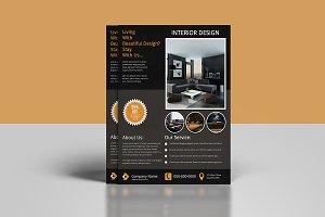 Interior Design Flyer -V877