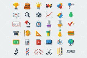 36 School Icons