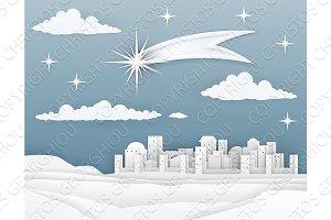 Nativity Christmas Bethlehem Paper
