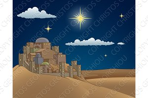 Nativity Christmas Bethlehem Star