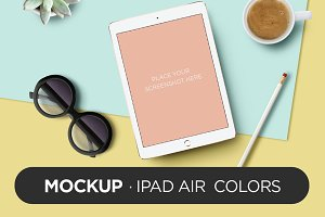 Mockup - iPad Air Colors