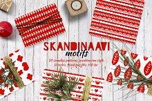 Skandinaavi Seamless Pattterns