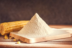 Sifted maize flour