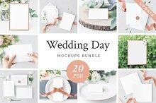 Wedding Day Mockups Bundle