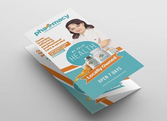 Pharmacy Tri Fold Brochure Template Brochure Templates Creative