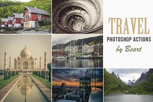 Landscape & Travel Photoshop Actions