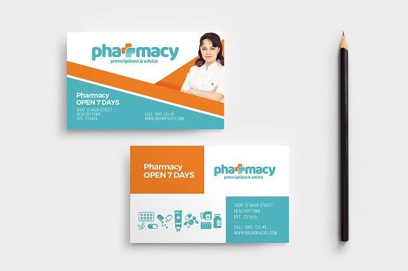 Pharmacy Templates Pack Flyer Templates Creative Market
