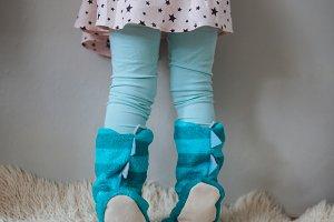 Kid legs