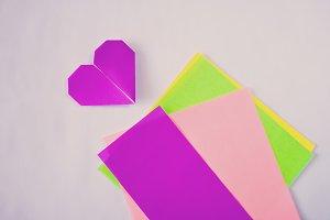 Neon Origami