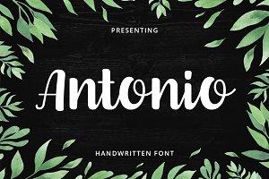 Antonio Script Font