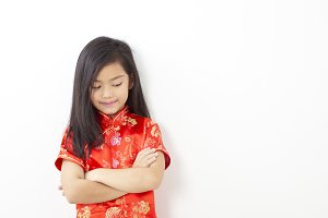 Girl Chinese New Year 2019