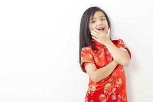 Girl Chinese New Year 2019