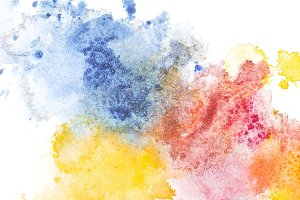 Abstract colored painting