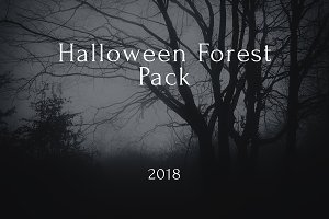Halloween Forest pack 2018