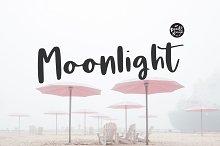 Moonlight | Script Font Duo