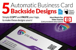 Automatic Design Business Card
