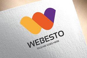 Letter W - Webesto Logo