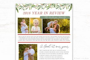 Year in Review Newsletter Template