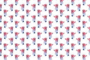 pattern of ink splashes