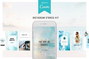 Travel Instagram Stories Kit