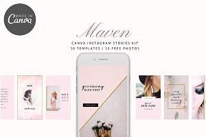 Maven Instagram Stories Kit