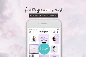 Coach Instagram Design Pack