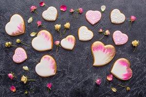 st valentines day arrangement of gla