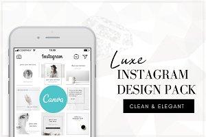 Luxe Instagram Design Pack