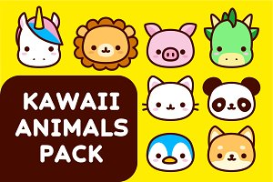 Kawaii Animals Icons