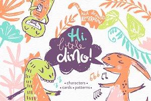 Hi, little DINO! Graphic