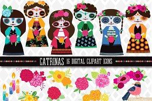 Dia de los Muertos: Catrina Dolls