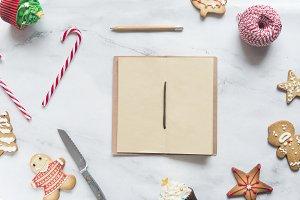 Christmas dessert note
