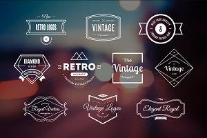 10 Retro Logos Vol. 14