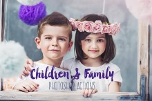 Children & Family Photoshop Actions