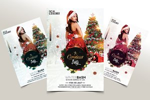 The Christmas Party - PSD flyer
