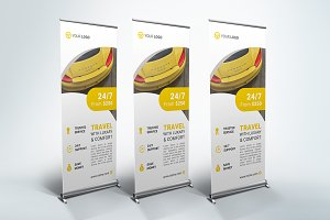 Rent A Car - Roll Up Banner