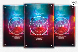 THE FUTURE Flyer Template