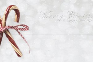 Holiday Candy Canes with Merry Chris