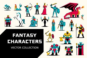 RPG Medieval Fantasy Characters