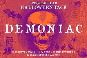 Demoniac Vintage Halloween Pack
