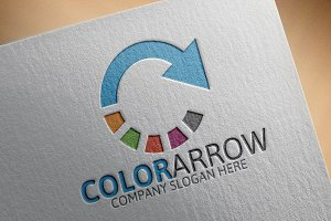 Color Arrow Logo