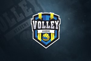 Volley Sports Logo