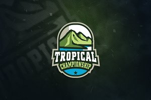 Tropical Sports Logo