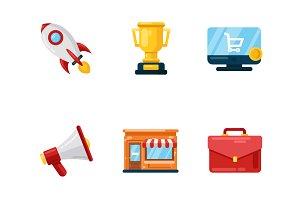Set stratup icons
