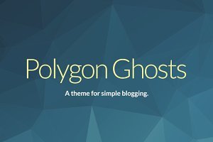 Poly - Simple Responsive Ghost Theme