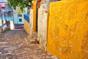 Guanajuato, Mexico, scenic old town