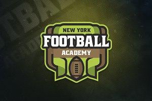 Football Academy Sports Logo