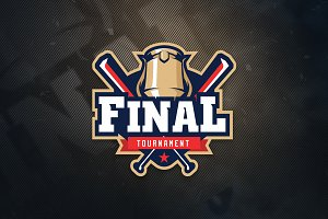 Final Tournament Sports Logo