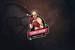Cavalaror Competition E-Sports Logo